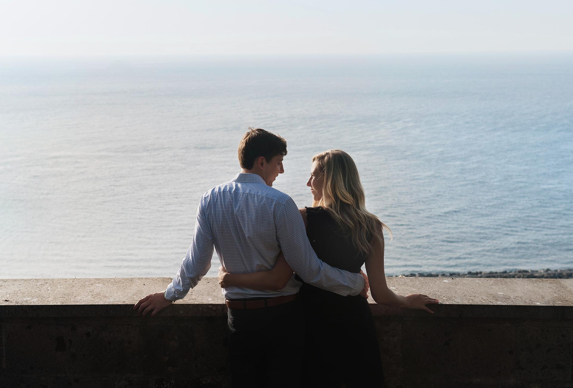 Fotografo Proposta matrimonio Costiera