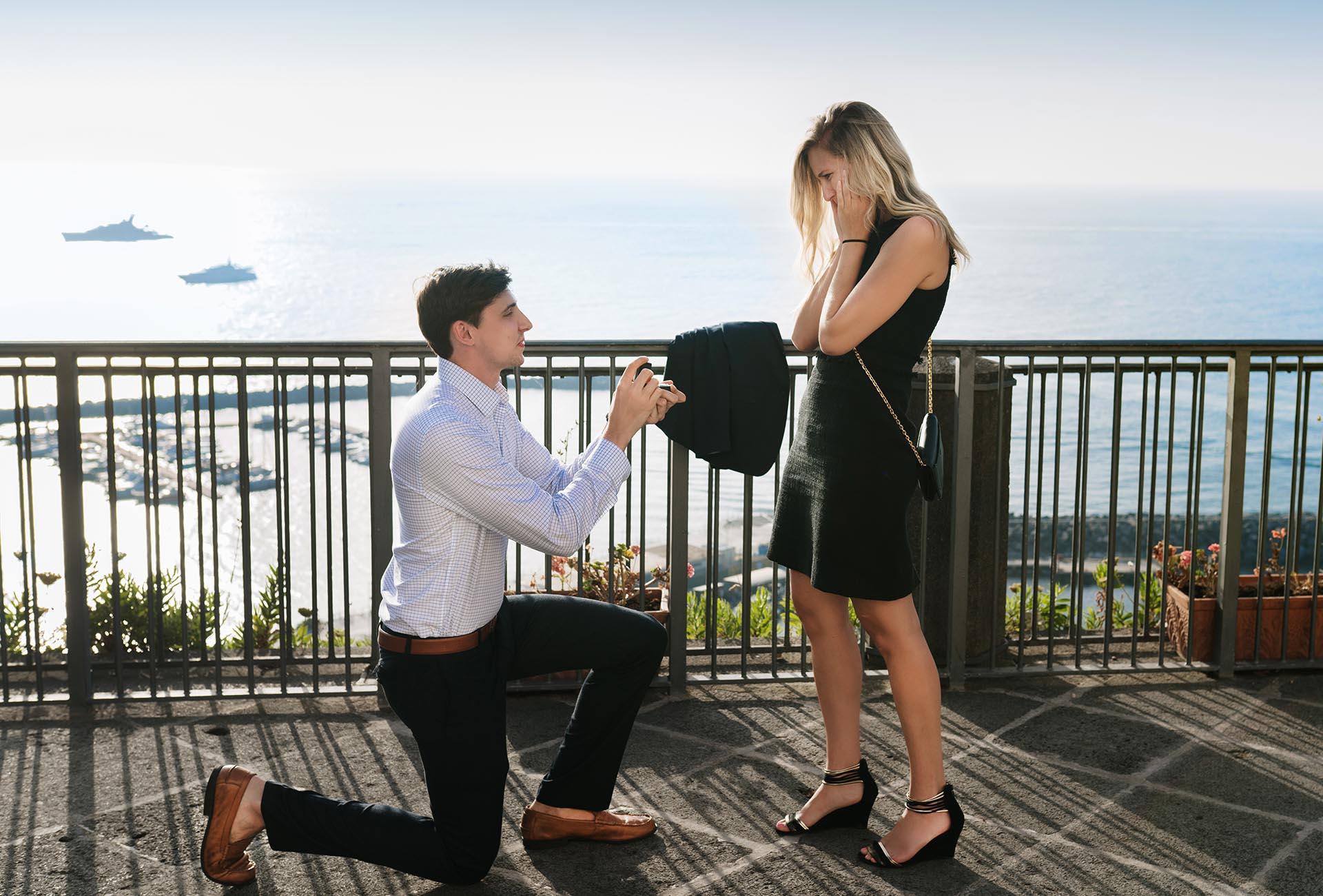 Proposta matrimonio Costiera