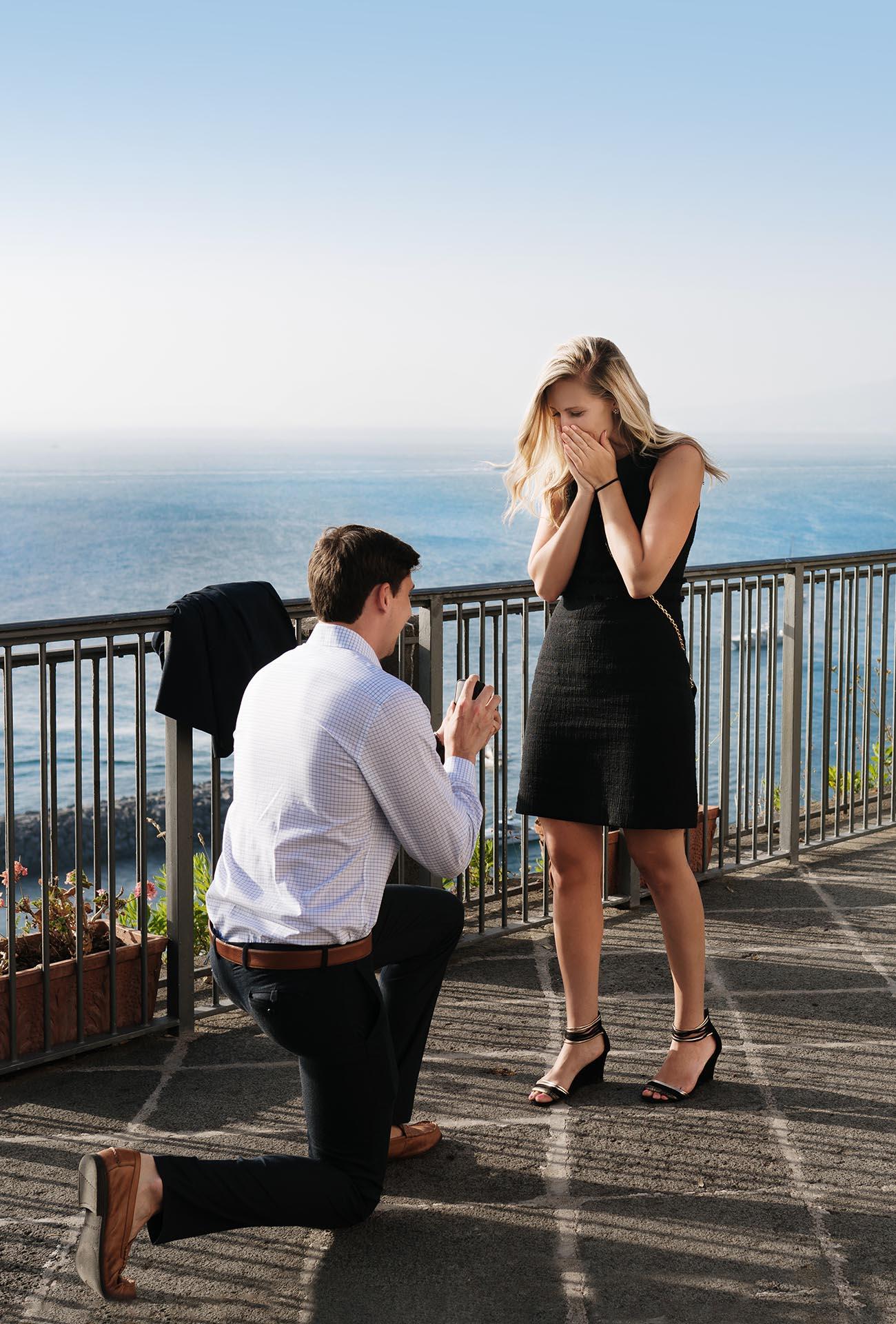 Proposta matrimonio Sorrento