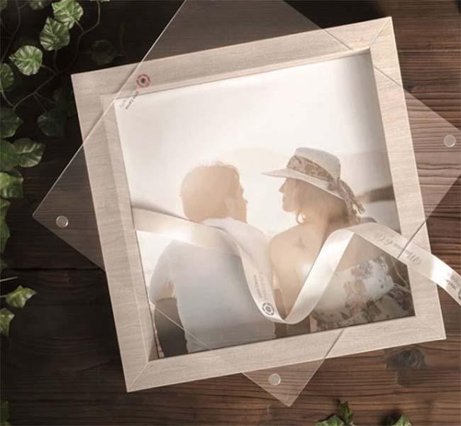 Album matrimonio moderno Love Story