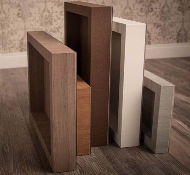 Album matrimonio moderno finiture box